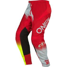 O'Neal Element Pantaloni Uomo, rosso/grigio